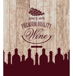 wine store or restaurant vector image vector image