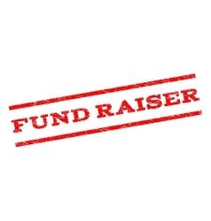 Fund raiser watermark stamp vector
