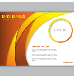 Background concept design for brochure vector