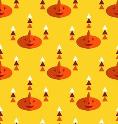 Halloween pattern24 vector image vector image
