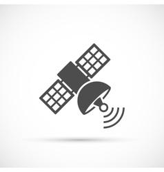 Satellite signal icon vector image vector image