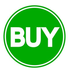 Buy button isolated vector