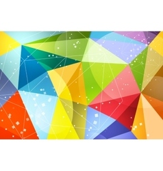 Abstract background design technology vector image