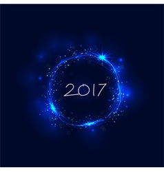 Happy new year 2017 holiday background vector