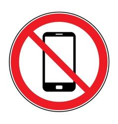 no call sign vector image