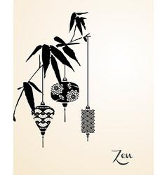Zen elements background vector