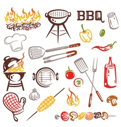 BBQ barbecue vector image
