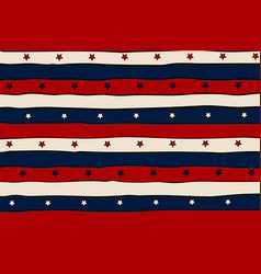 Vintage patriotic background with red lines and vector