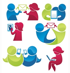 Mail and phone communication vector