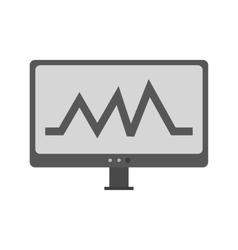 Analytics chart vector