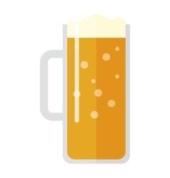 Beer cup vector