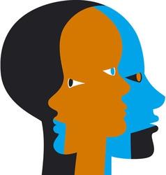 Inner Beings vector image