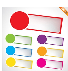 Tag template - - EPS10 vector image