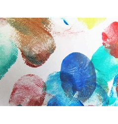 Colorful abstract watercolor vector