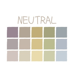 Neutral color tone without code vector