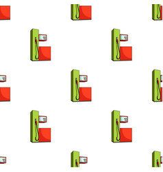Gas station for carscar single icon in cartoon vector