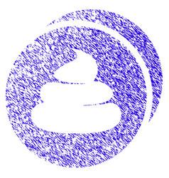 Shitcoins icon grunge watermark vector