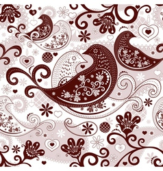 Valentine repeating pattern vector