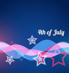 Style 4th of july vector