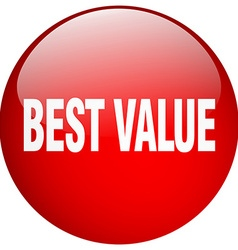 Best value red round gel isolated push button vector