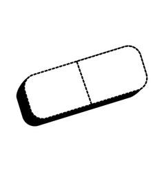 Isolated eraser design vector