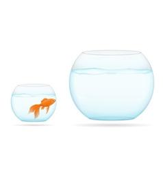 aquarium with fish 08 vector image