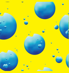 abstract drops seamless pattern vector image