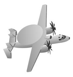 Military early warning radar aircraft vector