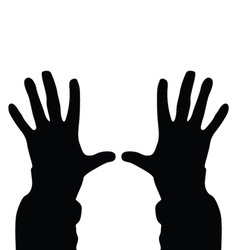 People hand vector