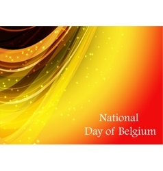 Abstract image of the belgian flag vector