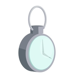 Mechanical pocket watch icon cartoon style vector image vector image