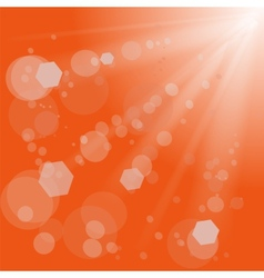 Sun Light Burst vector image vector image