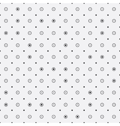 Minimalist pattern repeating rounds dots vector