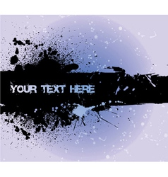 Grunge background with space for text vector