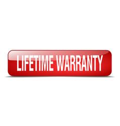 Lifetime warranty vector
