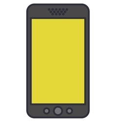 smartphone technology isolated icon vector image vector image