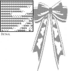 text ribbon vector image vector image