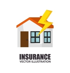 Icon insurance security design vector