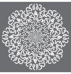 lace vintage vector image