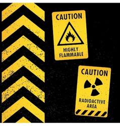 Warning tapes vector