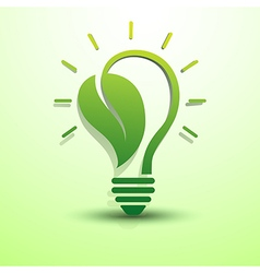 Green idea5 vector image