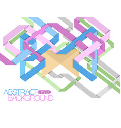 Abstract colors design vector