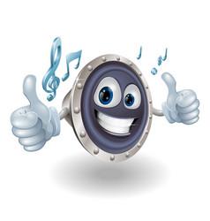 Music audio speaker character vector