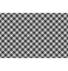 Black white diagonal check texture seamless vector