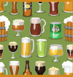 Alcohol beer ale glass vector