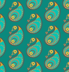 Seamless indian pattern vector
