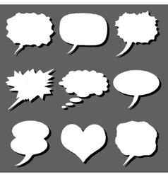 comics set vector image vector image