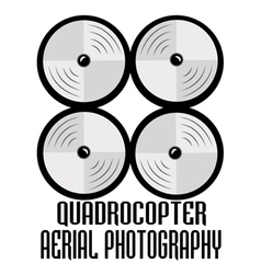 Drone logos badges emblems and design elements vector