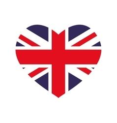 Flag icon United kingdom design graphic vector image
