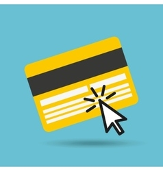 Smartphone and credit card vector